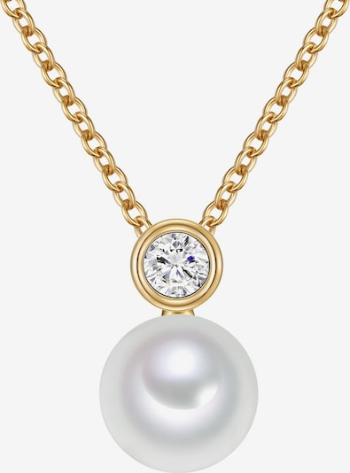 Valero Pearls Kette in gold / perlweiß, Produktansicht