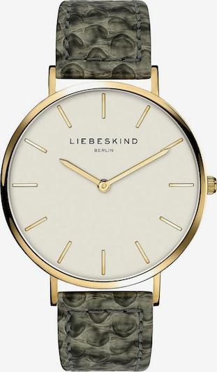 Liebeskind Berlin Montre à affichage analogique 'LT-0208-LQ' en or / émeraude, Vue avec produit