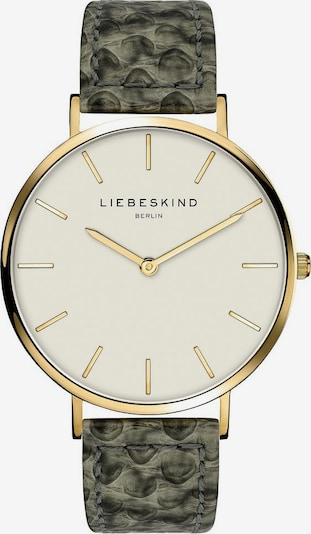 Liebeskind Berlin Analoog horloge 'LT-0208-LQ' in de kleur Goud / Smaragd, Productweergave