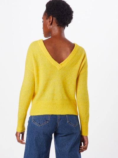 Megztinis 'NETE' iš OBJECT , spalva - geltona: Vaizdas iš galinės pusės