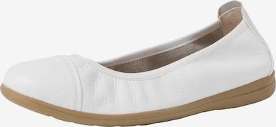 JANA Ballerina in weiß, Produktansicht