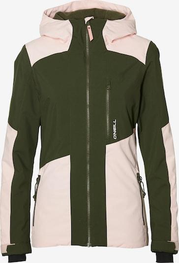 O'NEILL Športová bunda 'Cascade' - olivová / ružová, Produkt