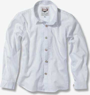 STOCKERPOINT Button Up Shirt 'Mika 2' in White