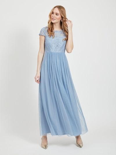 VILA Kleid in hellblau, Modelansicht