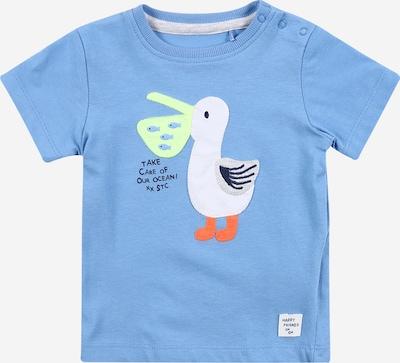 STACCATO T-Shirt in türkis / weiß, Produktansicht