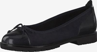 MARCO TOZZI Balerīntipa apavi kobaltzils, Preces skats