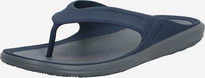 Crocs Iešļūcenes ar pirkstu atdalītāju 'Swiftwater Wave Flip M', krāsa - tumši zils / pelēks, Preces skats