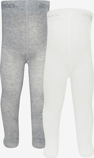 EWERS Strumpfhose in grau / weiß, Produktansicht