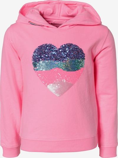 STACCATO Sweatshirt in dunkelblau / pink, Produktansicht