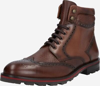 LLOYD Škornji z vezalkami | rjava barva, Prikaz izdelka