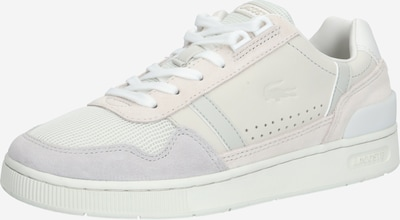 LACOSTE Sneaker 'T-CLIP 120 3 US SFA' in hellgrau / offwhite: Frontalansicht