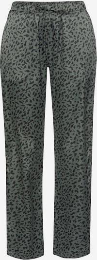 LASCANA Pyjamahose in khaki / schwarz, Produktansicht