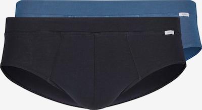 HUBER Brasil Slip Smart Comfort im 2er-Pack in blau / schwarz, Produktansicht