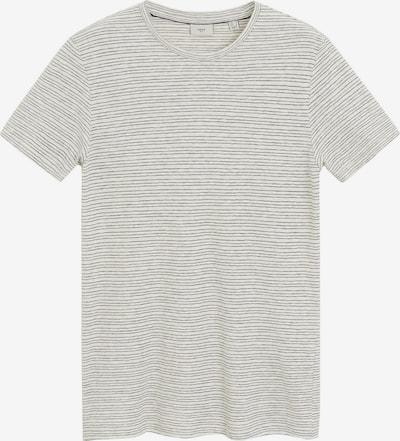 MANGO MAN Shirt  'CAMISETA CELRA' in beige / grau, Produktansicht