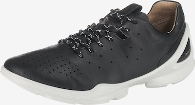 ECCO Sneakers 'Biom Fjuel Navy Yabuck Yak' in schwarz / weiß: Frontalansicht