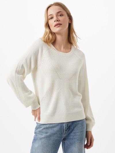 VILA Pullover in weiß, Modelansicht