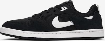 Nike SB Baskets basses 'Alleyoop' en noir / blanc, Vue avec produit