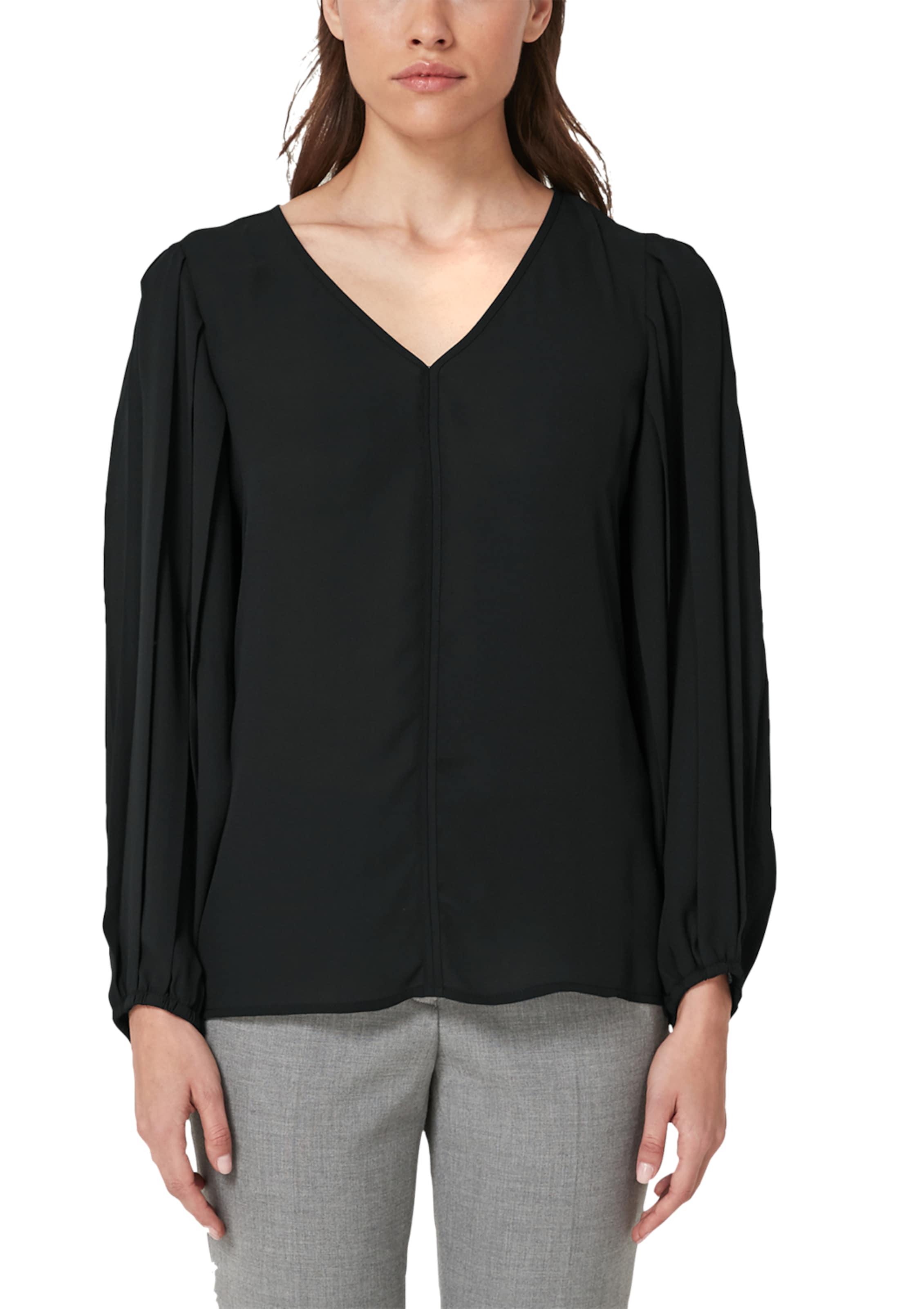 oliver S Schwarz Bluse Label Black In F1JcTlK