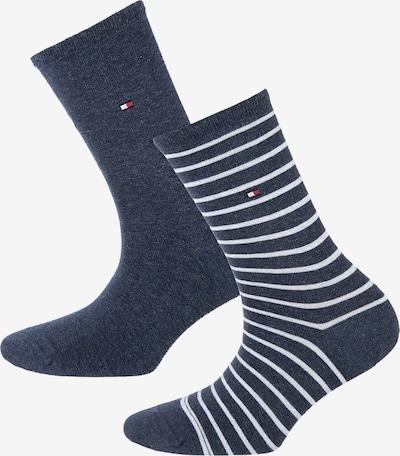 TOMMY HILFIGER Socken in blau / weiß, Produktansicht