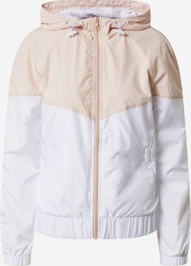 Urban Classics Jacke in rosa / weiß, Produktansicht