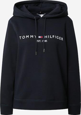 mėlyna TOMMY HILFIGER Megztinis be užsegimo
