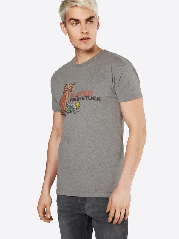 En NoisetteGris T Chiné shirt Derbe 'katerfrühstück' y80OvwNmnP