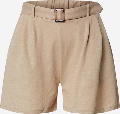 ONLY Plisované nohavice 'ONLNOMA' - béžová: Pohľad spredu