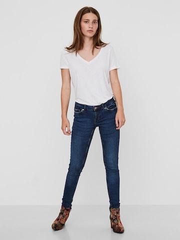 Noisy may Jeans 'NMEVE' in Blauw