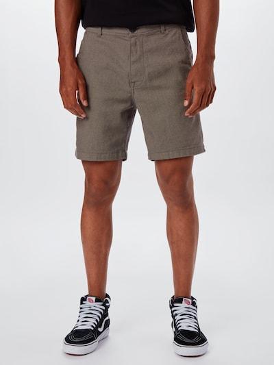 SELECTED HOMME Chino nohavice 'STORM' - hnedá melírovaná: Pohľad spredu