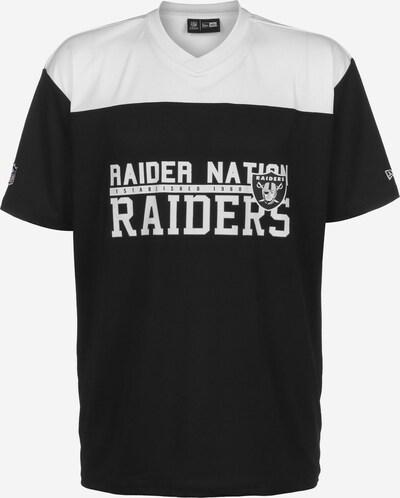 NEW ERA T-Shirt ' NFL  Oakland Raiders ' in schwarz / weiß, Produktansicht