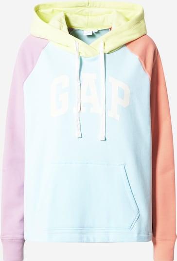 GAP Majica | svetlo modra / rumena / lila / korala barva, Prikaz izdelka