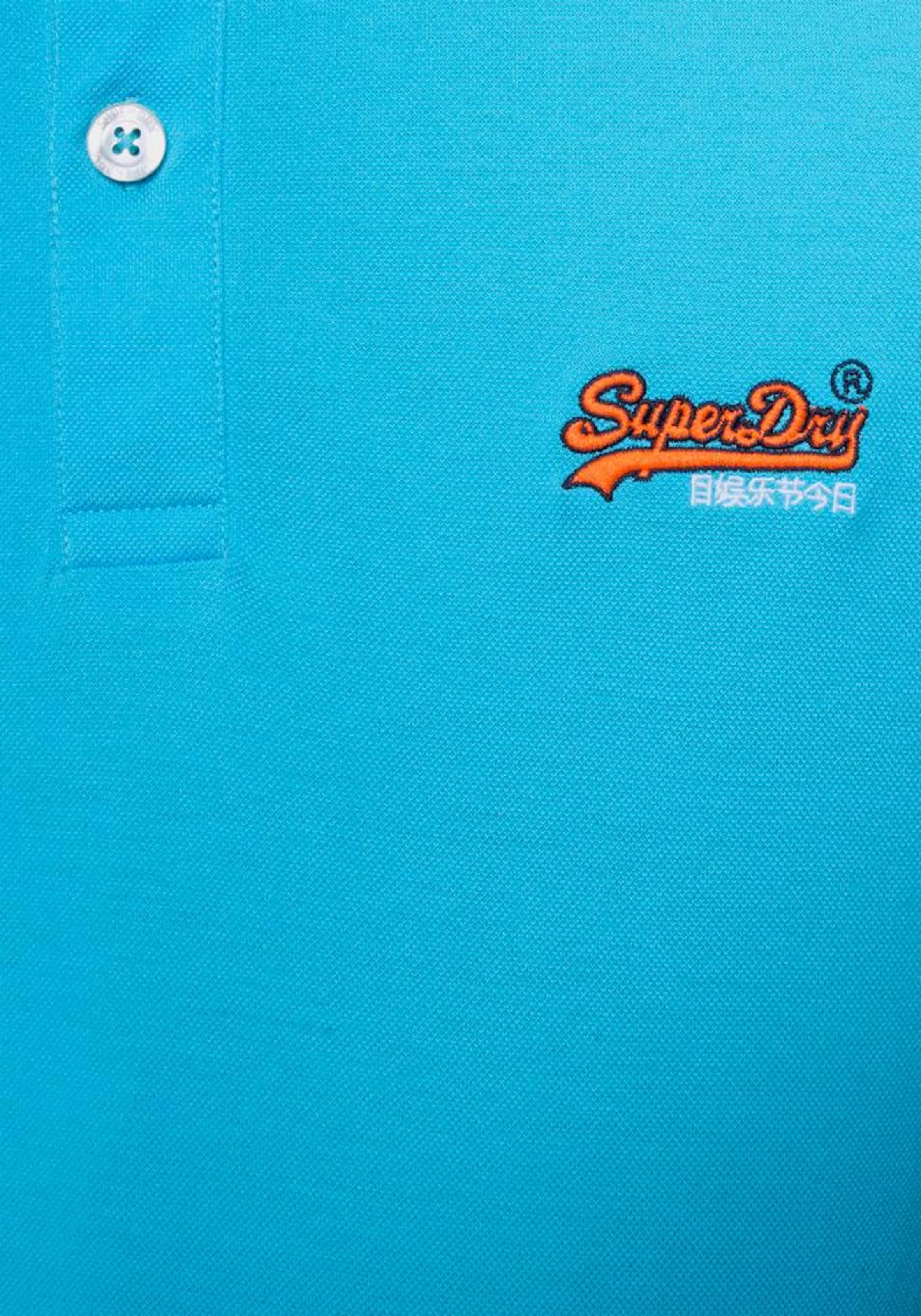 Superdry City' Türkis 'mercerised Poloshirt Lite In jSqUzLMVpG