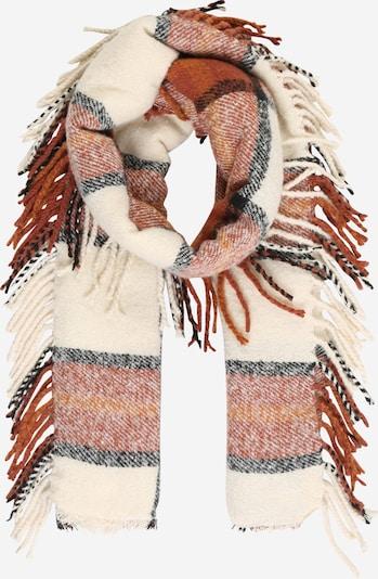 VERO MODA Szalik 'Kamille' w kolorze beżowy / rdzawobrązowym, Podgląd produktu