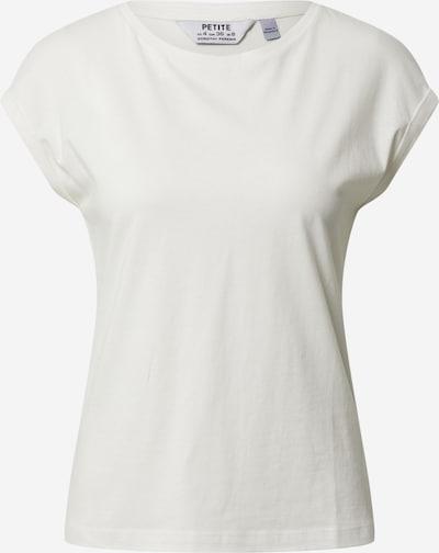 Tricou 'Petite' Dorothy Perkins (Petite) pe alb, Vizualizare produs
