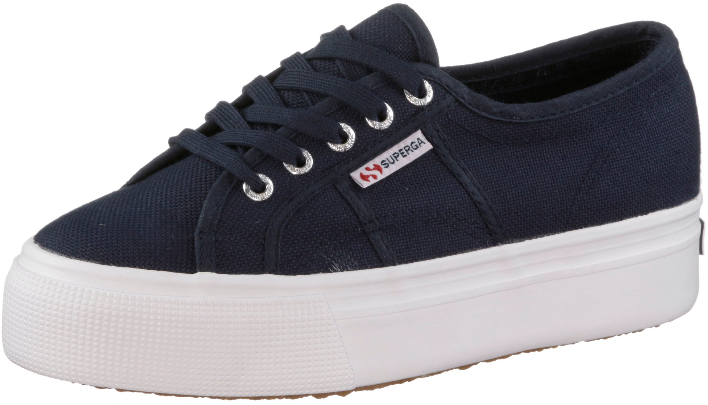 Baskets Superga Couche 2790 Acotw Linea Up & Down « Bleu Cobalt / Blanc p1Dmqg8aA4