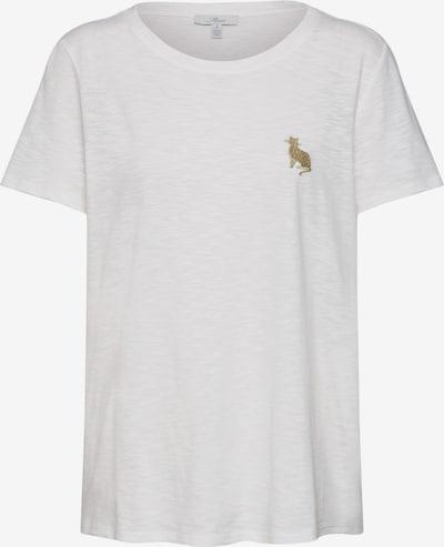Mavi Shirt 'Cat Embroidery Tee' in weiß, Produktansicht