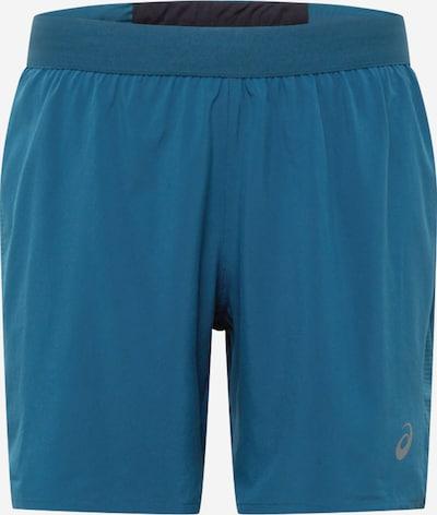 ASICS Sportbroek 'Road' in de kleur Blauw, Productweergave