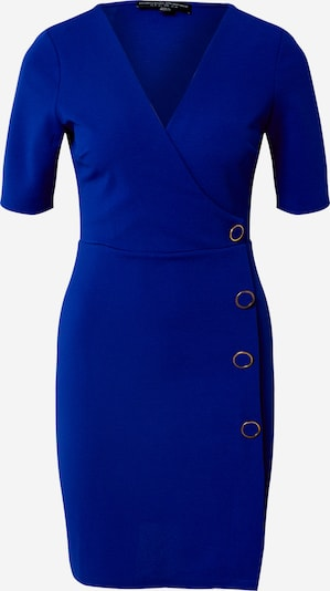 Dorothy Perkins Jurk 'Cobalt Tie Sleeve Belt Shift Dress' in de kleur Saffier, Productweergave