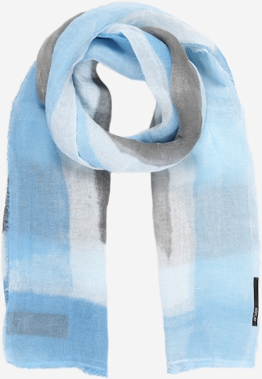 REPLAY Schal in hellblau / grau / weiß, Produktansicht