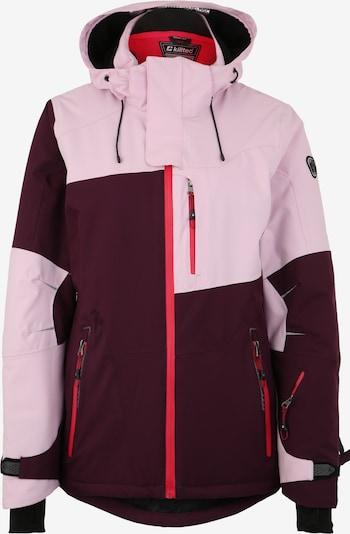 KILLTEC Kurtka sportowa 'Luira' w kolorze śliwka / różowy pudrowym, Podgląd produktu