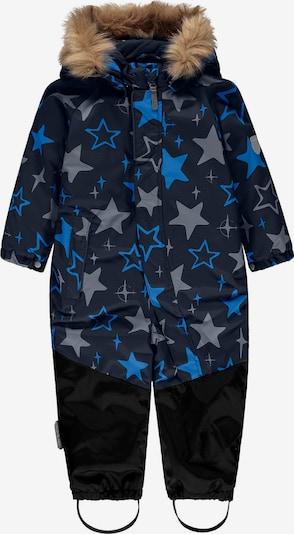 TICKET TO HEAVEN Schneeanzug 'Luca' in blau / royalblau / grau / schwarz, Produktansicht