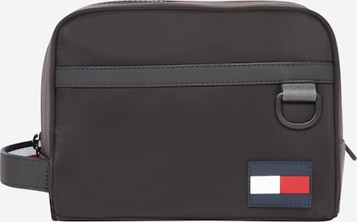 TOMMY HILFIGER Kulturtasche in dunkelgrau / schwarz, Produktansicht