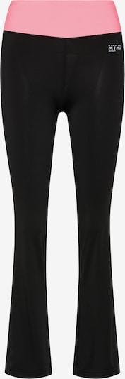 myMo ATHLSR Sportbroek in de kleur Lichtroze / Zwart, Productweergave