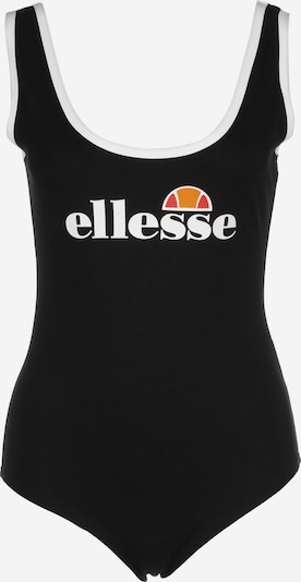 ELLESSE Body 'Lils' in orange / rot / schwarz / weiß, Produktansicht
