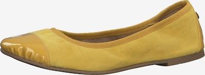 s.Oliver Klassische Ballerinas in gelb, Produktansicht