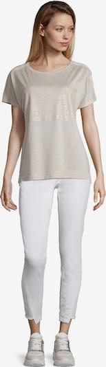 Cartoon Casual-Shirt in beige: Frontalansicht