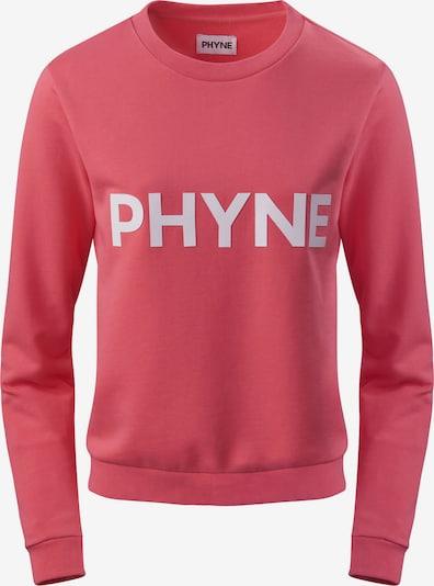 PHYNE Sweatshirt in de kleur Rosé / Wit, Productweergave