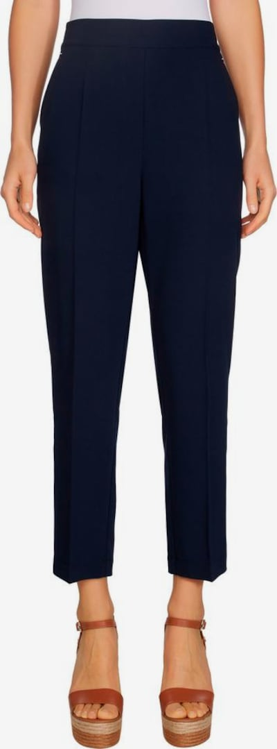 TOMMY HILFIGER Schlupfhose »TH ESS POLY TWILL TAPERED PANT« in dunkelblau, Modelansicht