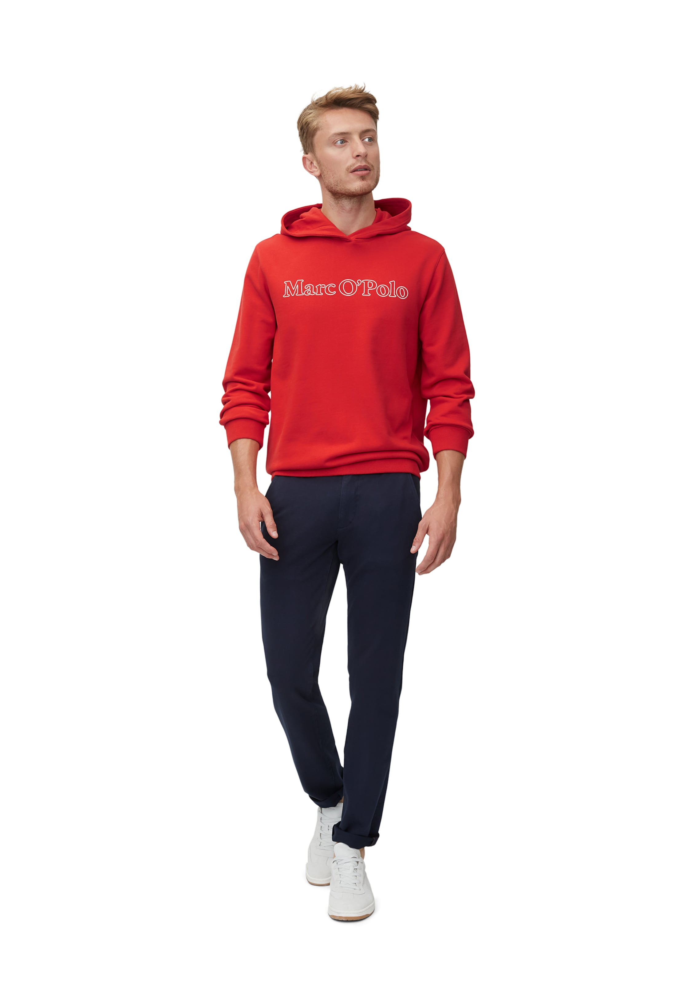 Rot O'polo Hoodie In Marc In Marc Rot O'polo Hoodie SpVqMUz