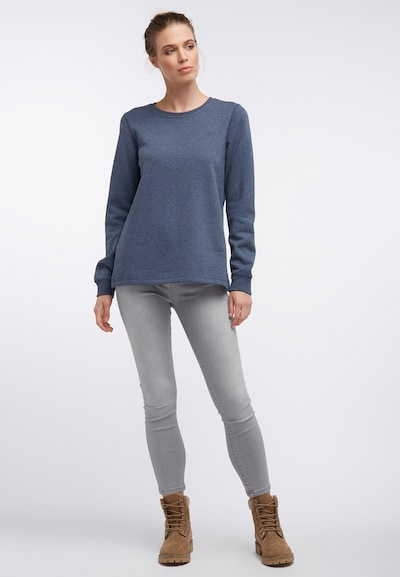 DREIMASTER Sweat-shirt en bleu-gris: Vue de face